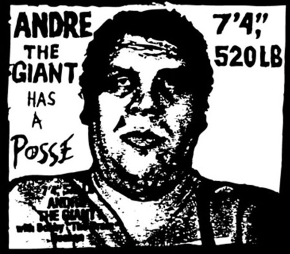 Andre The Giant ~ Shepard Fairey