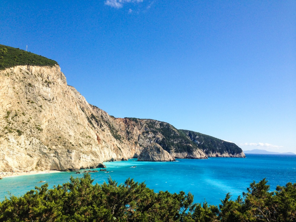 The beautiful blue landscape ~ Lefkada, Greece