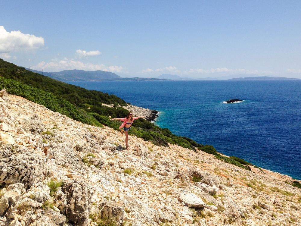 The perfect view ~ Lefkada, Greece