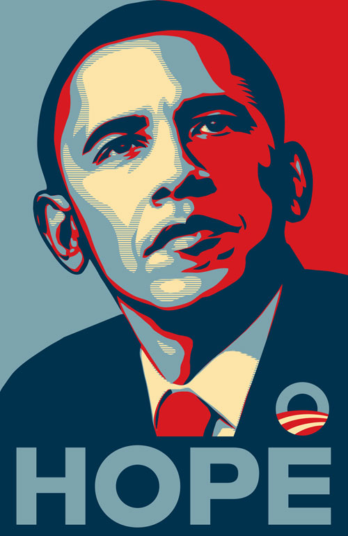 The Hope Poster ~ Shepard Fairey