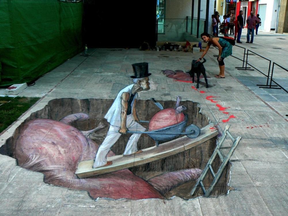 3D Street Art ~ by Eduardo Relero