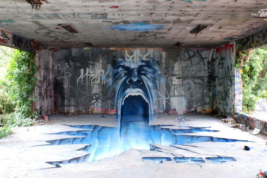 3D Street Art ~ by TSF Crew