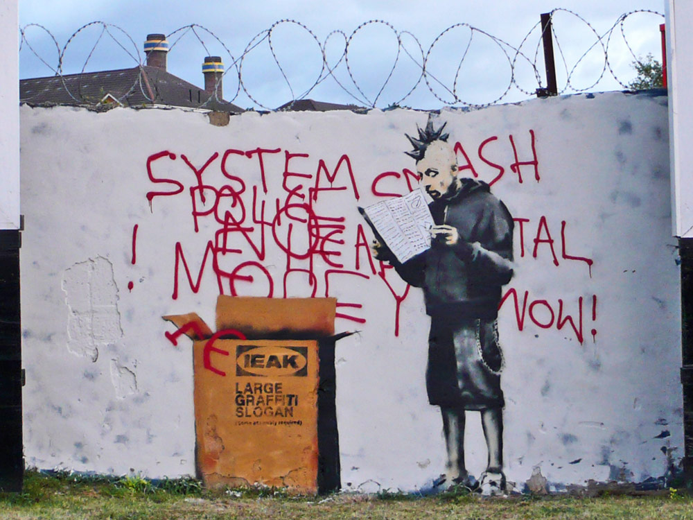 """IEAK"" Instruction ~ By Banksy ~"