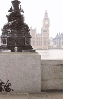 Rats in London ~ By Banksy ~