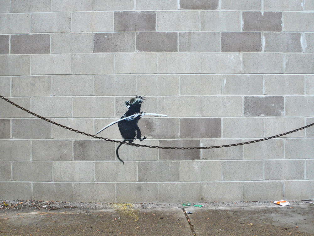 Rat ~ By Banksy ~