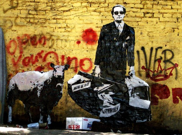 ~ By Blek Le Rat ~