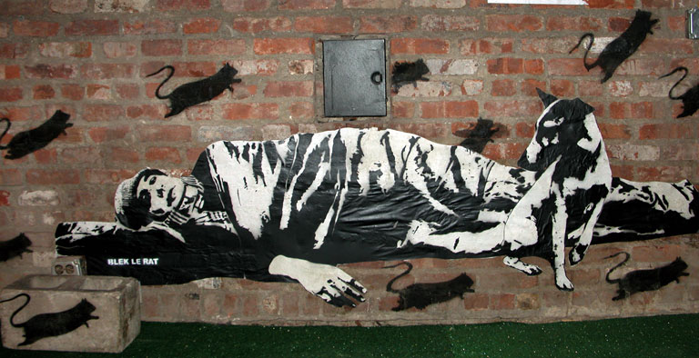 ~ By Blek Le Rat ~ in NYC