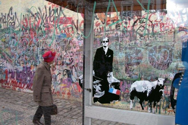 ~ By Blek Le Rat ~ in Paris