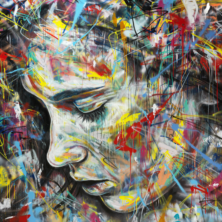 Spray Paint on Canvas ~ By David Walker ~