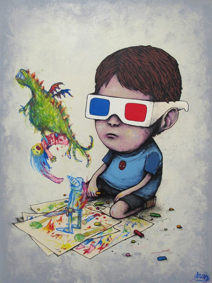 3D World ~ By Dran