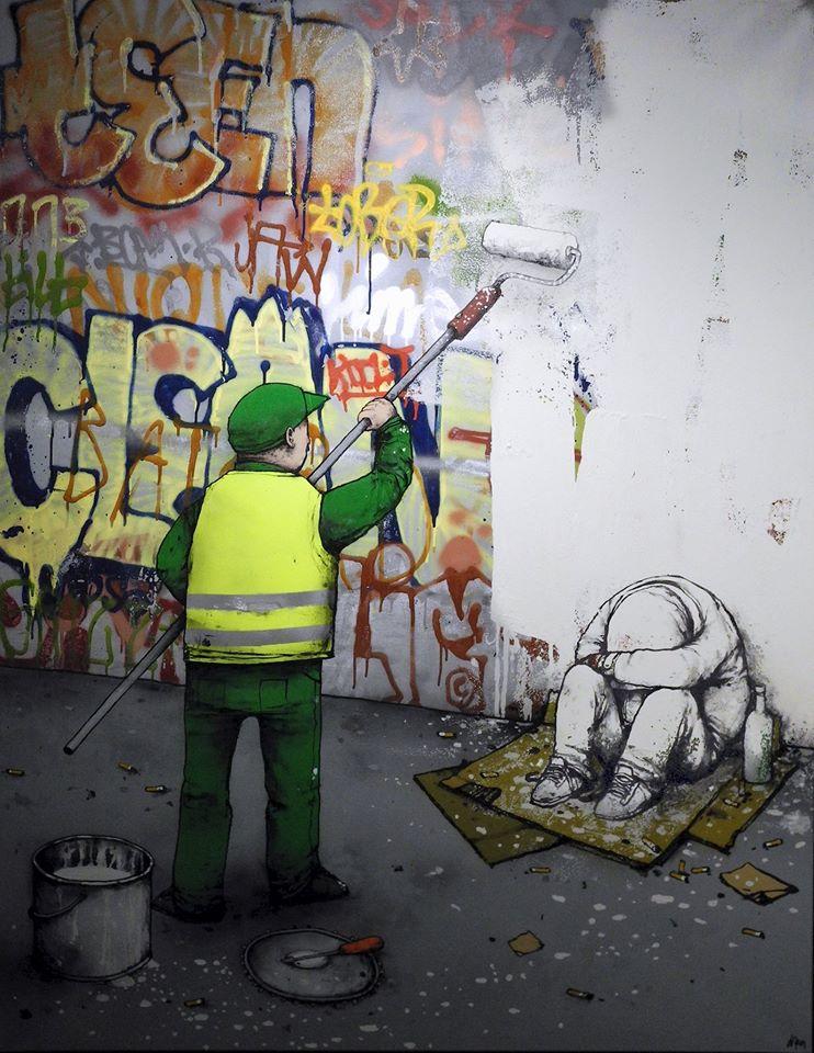 Graffiti Removal ~ By Dran