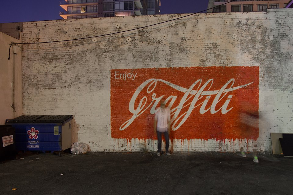 ~ By Ernest Zacharevic ~