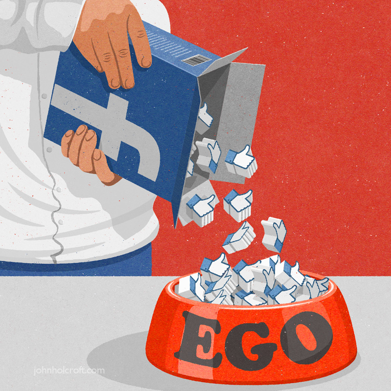 John Holcroft - How today's genration boosts it's ego