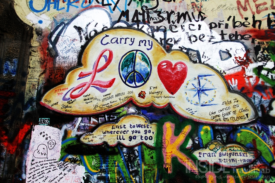 The John Lennon Wall ~ Prague, Czech Republic