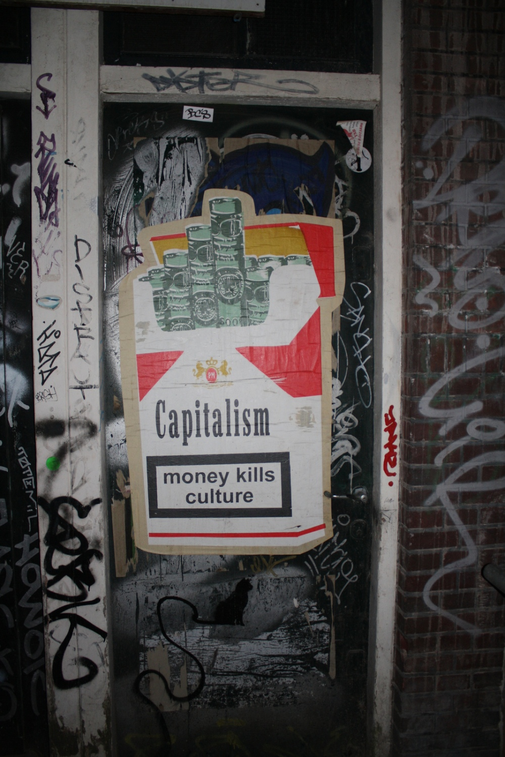 Money kills culture ~ Photo by TheLostSociety, found on Flickr