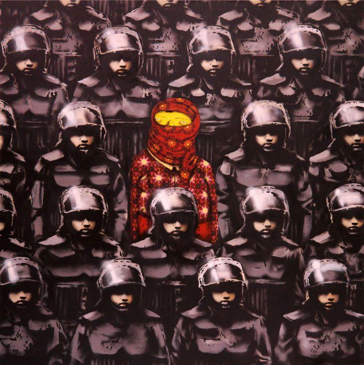 Os Gemeos & Banksy
