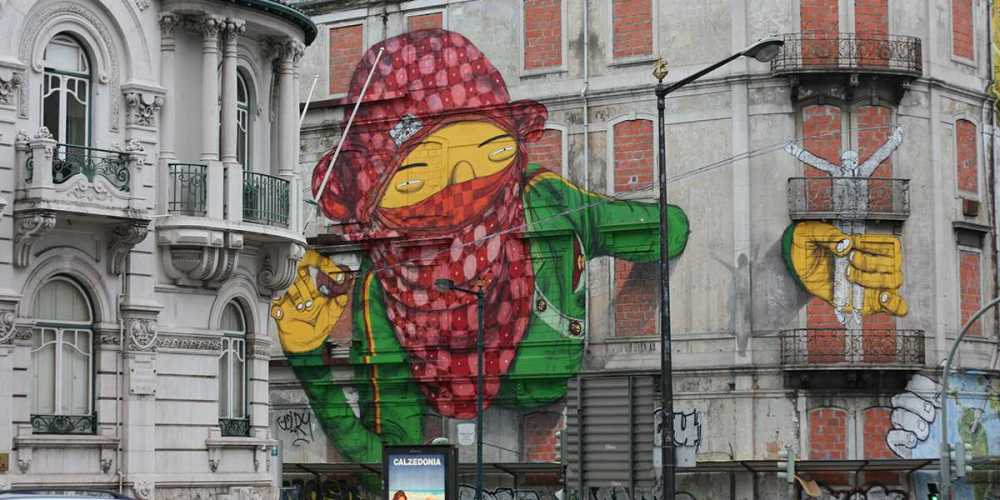 ~ By Os Gemeos ~ In Lisbon Portugal