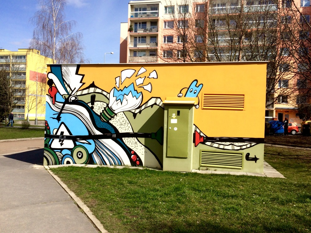Spray Art ~ Prague, Czech Republic
