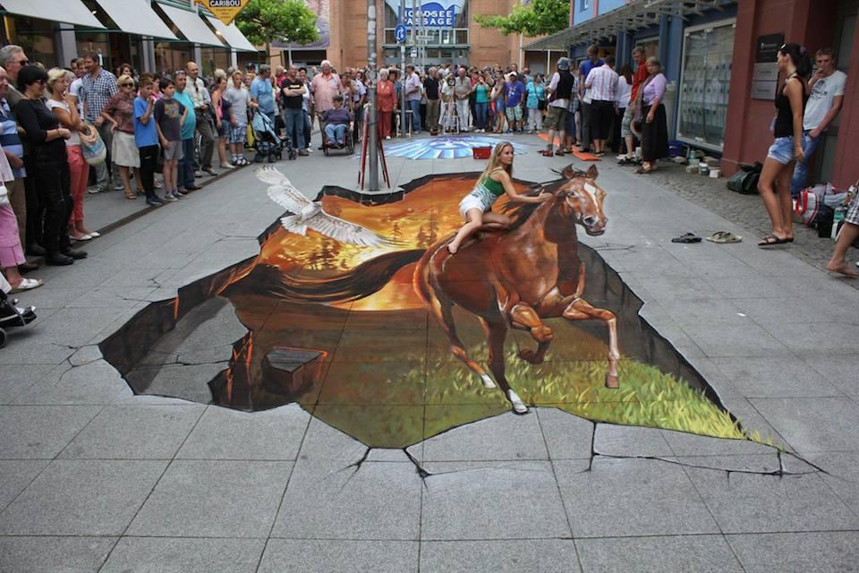 3D Street Art ~ by Arndt Nikolaj