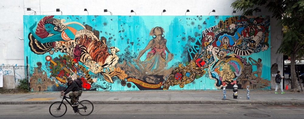 Street Art ~ By Swoon