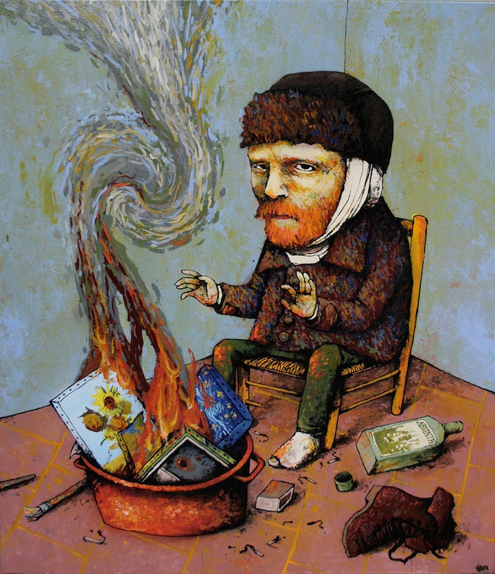 The Homeless Van Gogh ~ By Dran ~