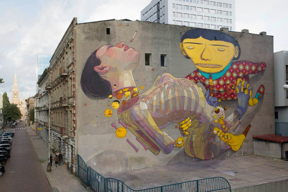~ By Aryz and Os Gêmeos ~