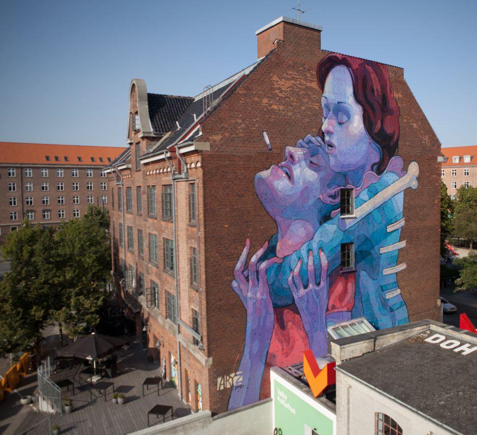 ~ By Aryz ~ Copenhagen, Denmark