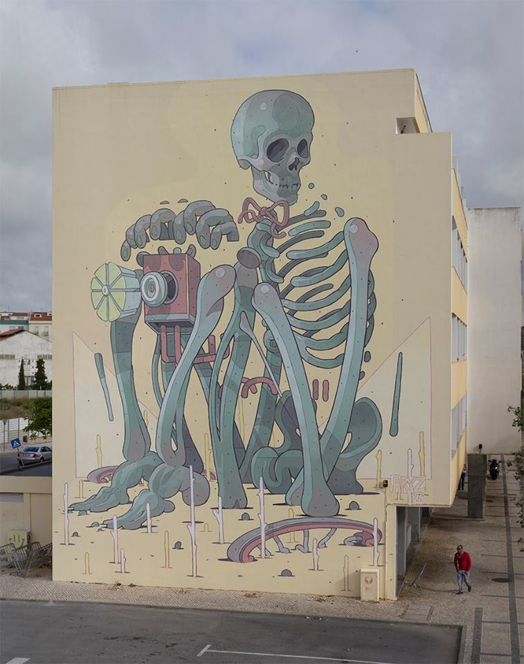 ~ By Aryz ~ Lagos, Portugal