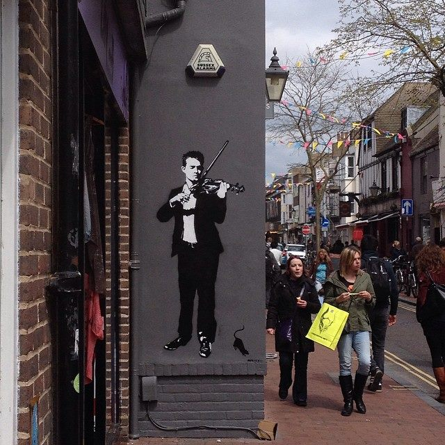 ~ By Blek Le Rat ~ In Brighton