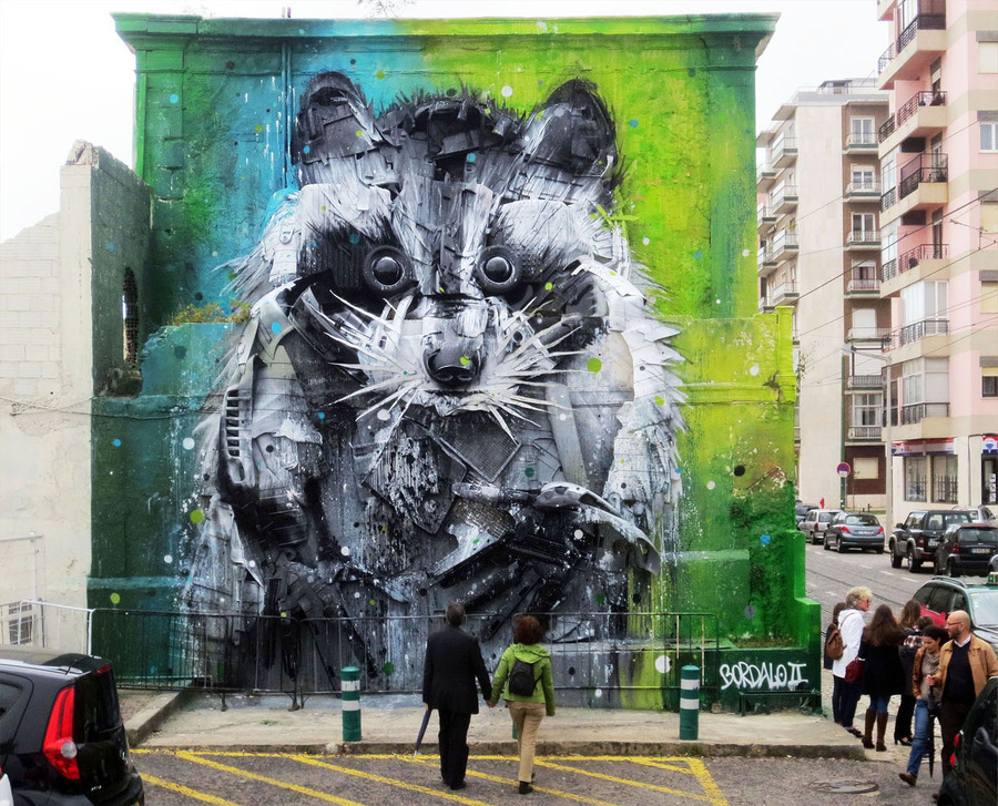 ~ By Bordalo II ~
