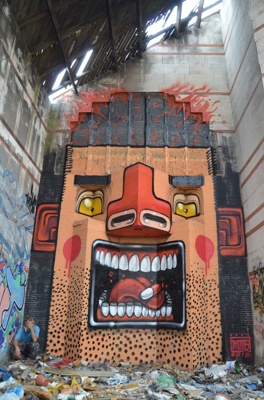 ~ By Mr. THOMS ~ Alive If Burning - Rome, Italy