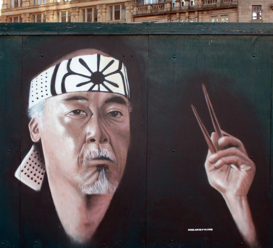 ~ By Akse ~ The Way Of The Chopsticks - from globalstreetart.com