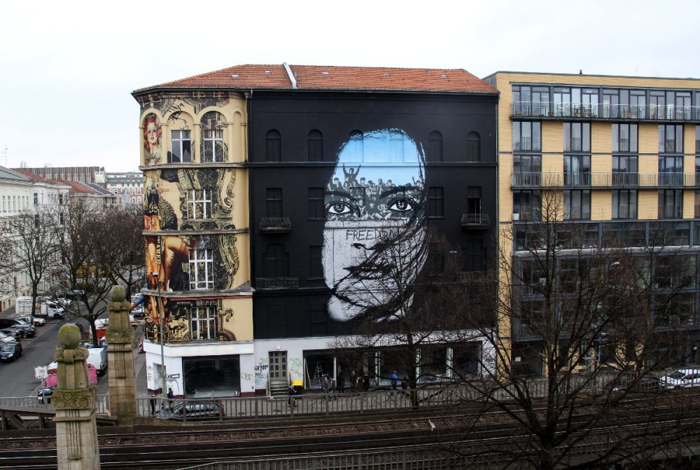 ~ By Icy and Sot ~ Portrait of Freedom - Berlin, Germany - from icyandsot.com