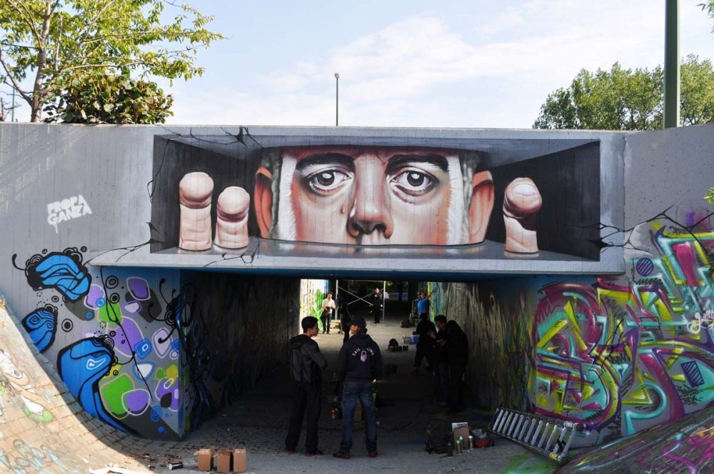 ~ By Smates ~ Belgium, freehand spraycan - from smates.be