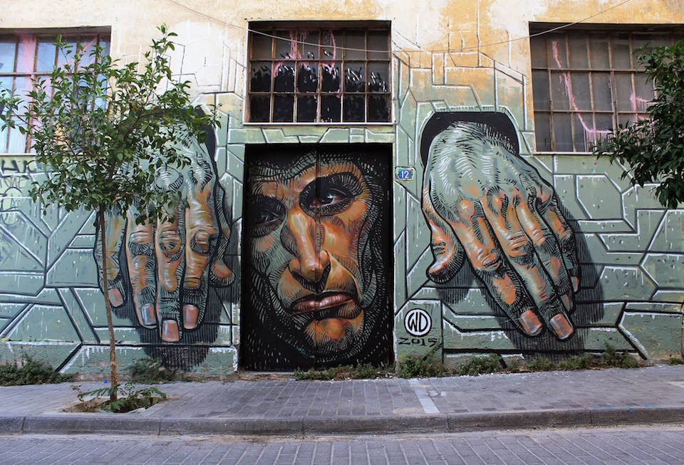 ~ Hope Dies Last ~ By Wild ~ Athens, Greece - from wdstreetart.com