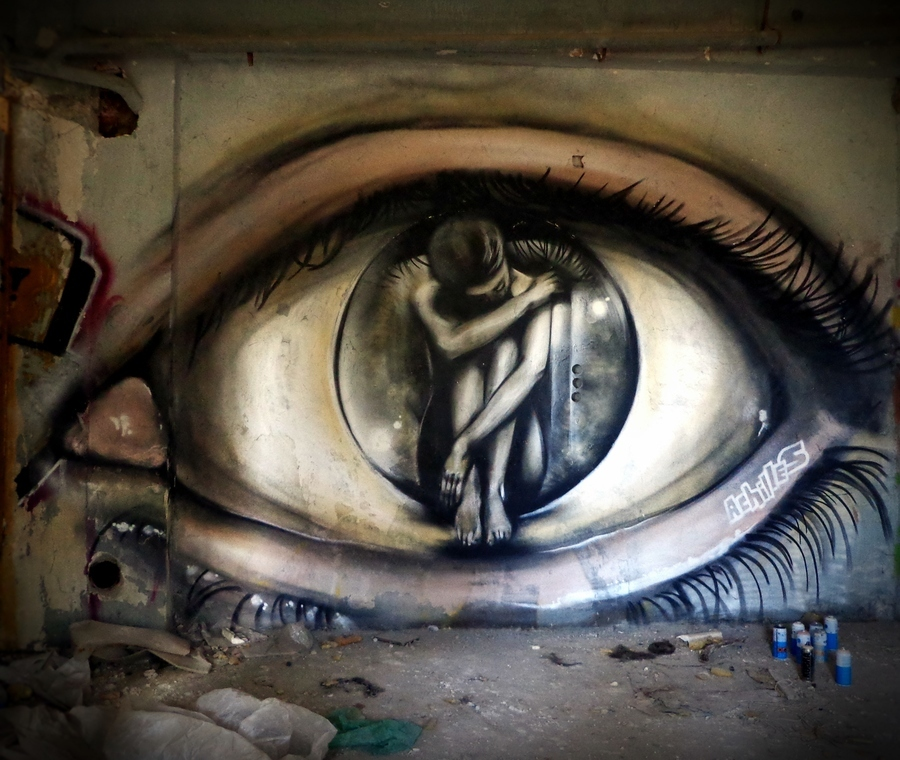 ~ By Achilles ~ Athens, Greece - Photo: globalstreetart