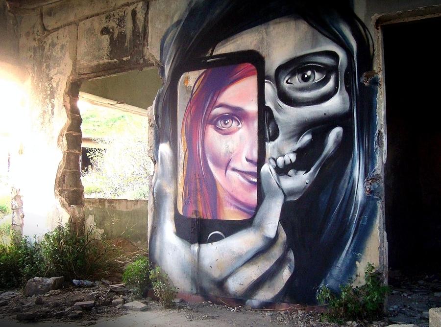 ~ By Achilles ~ Athens, Greece - Photo: globalstreetart