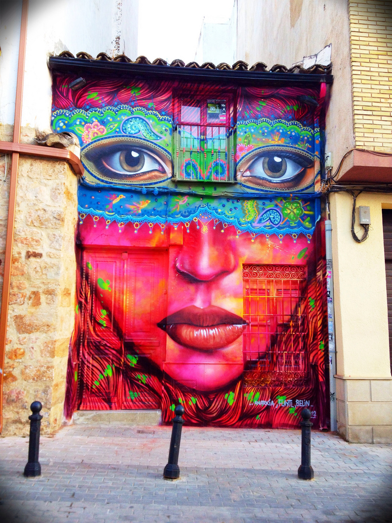 ~ By Anarkia, Flantl and Belin ~ Linares, Spain - streetarthub.com