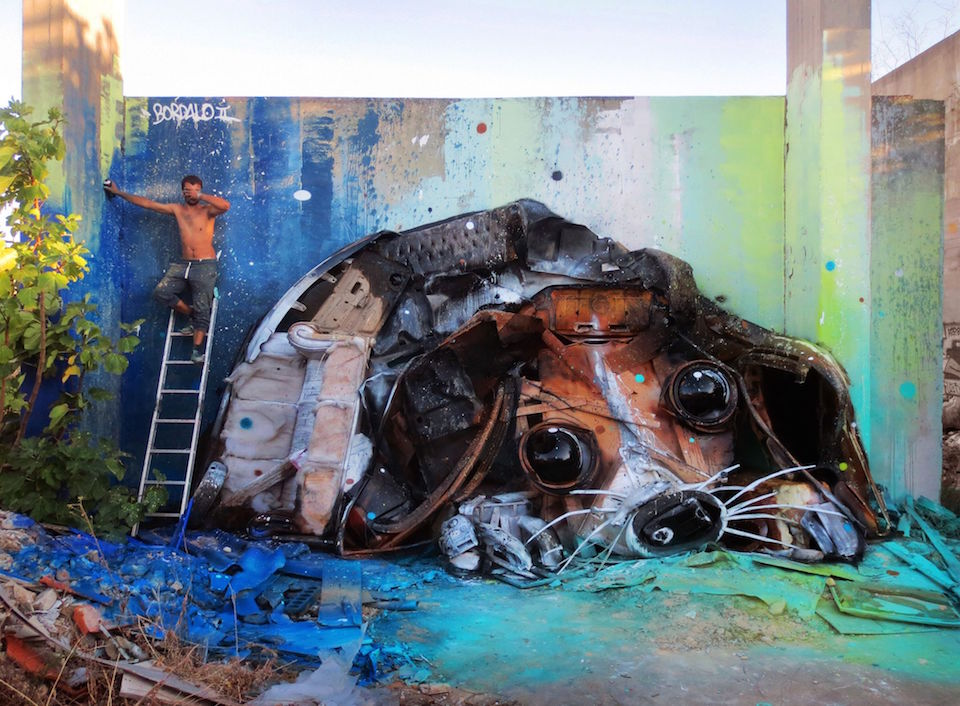 ~ By Bordalo II ~ Lisbon, Portugal