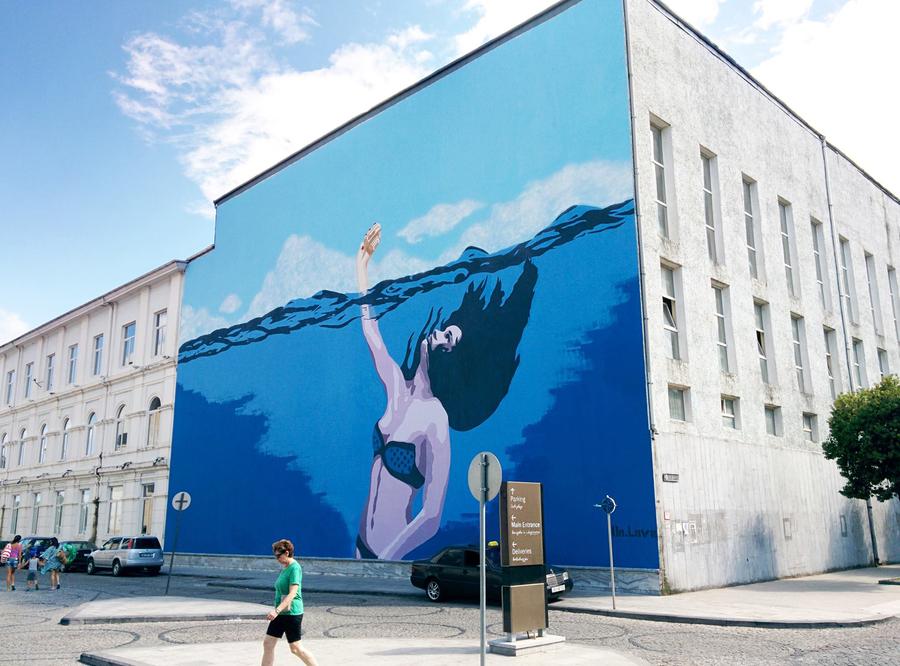 ~ By Dr. Love ~ The Biggest Mural in Georgia - globalstreetart.com/drlove