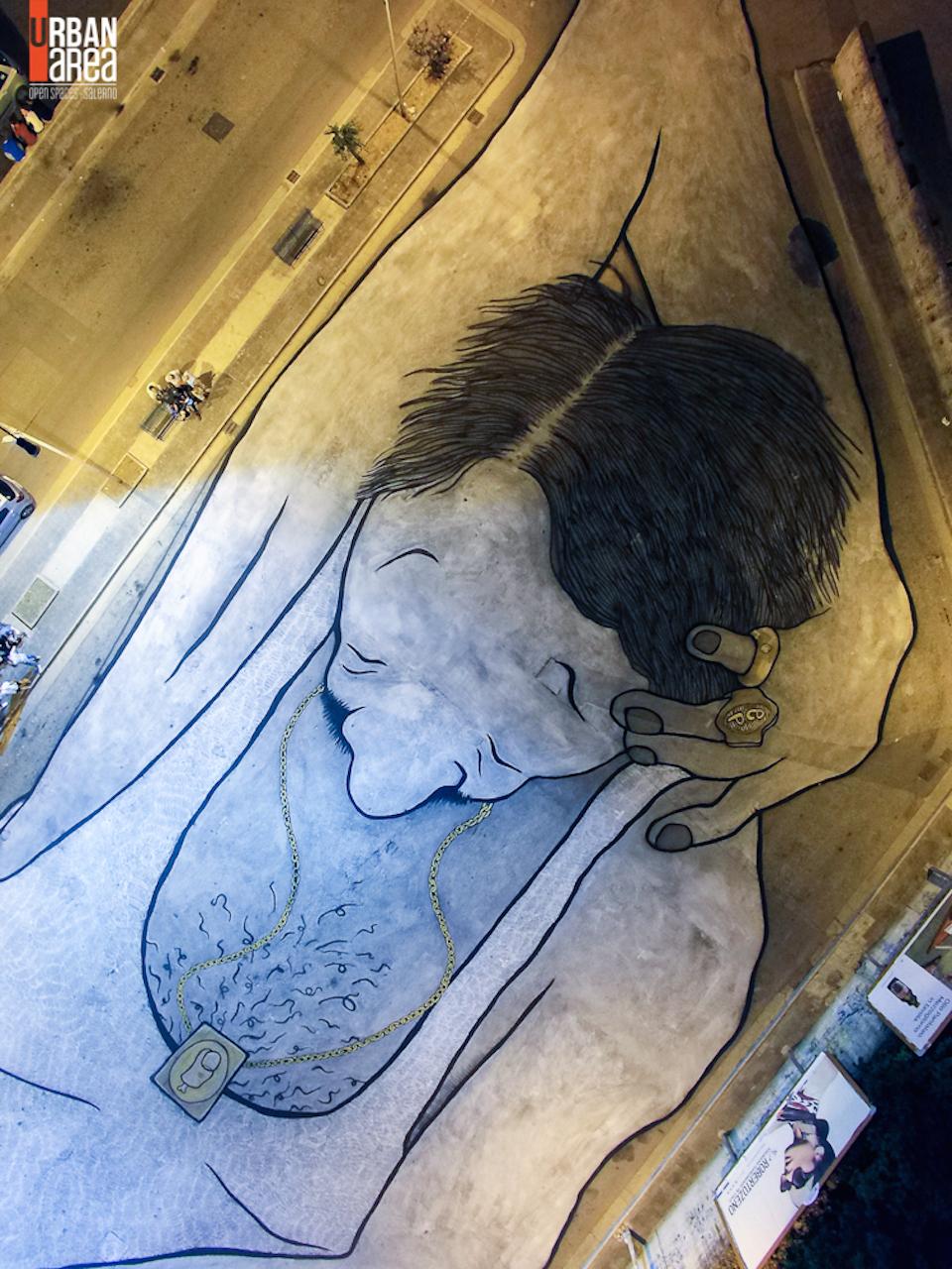~ By Ella & Pitr ~ Quadrivio di Campagna, Italy - Photo: streetartutopia.com