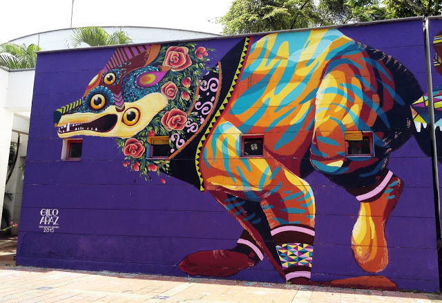~ By GLeo and Apaz ~ Cali, Colombia - Photo: streetartnews.net