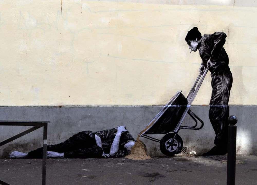 ~ By Levalet ~ Paris - Photo: hfmagazin.cz