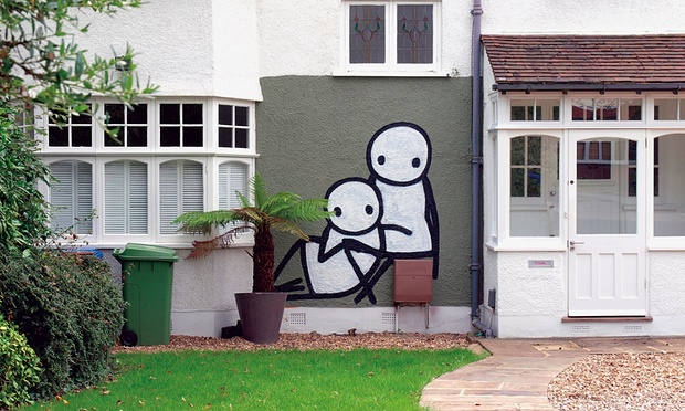 ~ By Stik ~ Court Lane, Southwark, London - Photo: Claude Crommelin