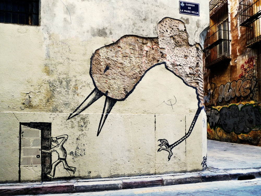 ~ Unknown Artist ~ Relleu, Spain - from streetartutopia.com