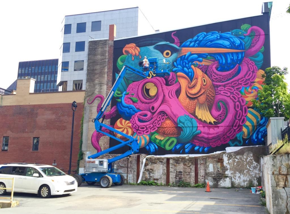 ~ By Jason Botkin ~ Barrington St. in Halifax, Nova Scotia, Canada