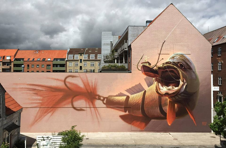 """Big Catch"" ~ By Wes21 & ONUR ~ Aalborg, Denmark - Photo: ONUR's Facebook"