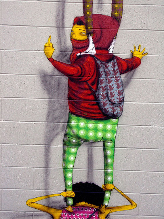 ~ By Os Gemeos ~ San Diego - Photo: unurth.com