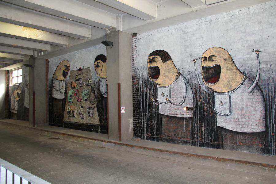 Bisser Belgium street art festival