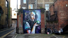~ By Alice Pasquini ~ London, UK - Photo: alicepasquini.com